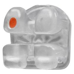 Bracket Cerâmico Gemini Cristal Clear c/ Gancho 022 Kit 2 Casos - 3M