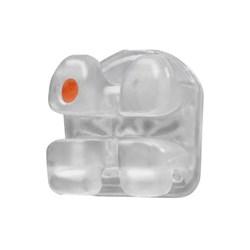 Bracket Ceramico Gemini Cristal Clear Roth c/ Gancho 022 1 Caso 3M Unitek