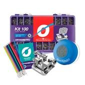 Bráquete ADV 0.22 Kit 100 Casos Kit Promocional SPO - Orthometric