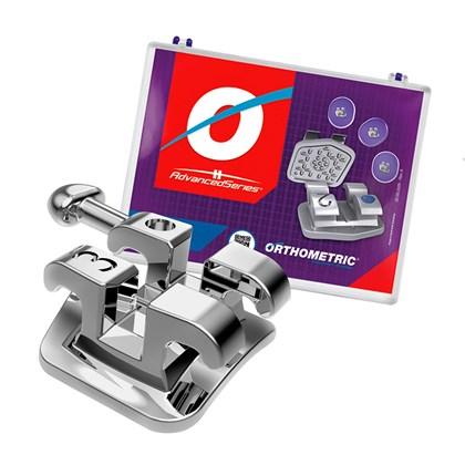Bráquete Adv Mbt 022 c/ Gancho Kit 1 Caso 10.11.2000 Orthometric