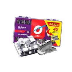 Braquete ADV Roth 0.22 C/50 Casos C/40 Tubos Kit Promo 10.10.2924 Orthometric