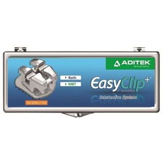 Bráquete Autoligado EasyClip+ Interativo 1 Caso Slot 0.22 - Aditek