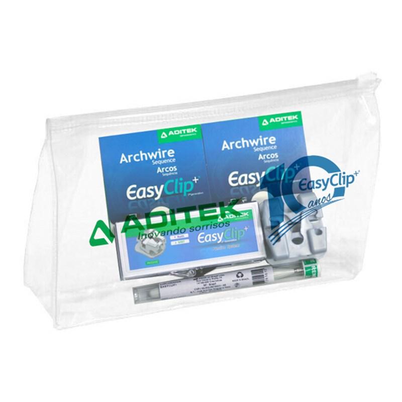 Bráquete Autoligado EasyClip+ Passivo 0.22 Estojo - Aditek