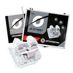 Bráquete Ceramico Autoligado Iceram Slb Roth 0.22+Arcos 11.30.2905 Orthometric