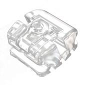 Bráquete Ceramico Autoligado Roth Slide H5 Clear Central S/E(21) c/ 1 Aditek