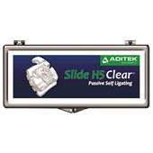Bráquete Cerâmico Autoligado Slide H5 Clear 1 Caso - Aditek