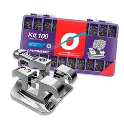 Bráquete de Aço Advanced Series com 100 Casos