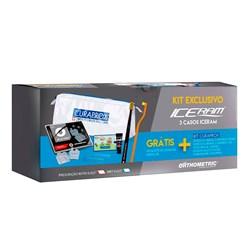 Braquete Ice Clear Roth 022 3 Casos 10.85.2802 + Ligadura Modular + Kit Curaprox Orthometric