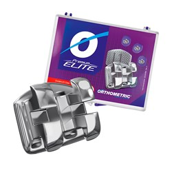 Bráquete Premium Elite Roth 022 Kit 1 Caso 11.20.2000 Orthometric