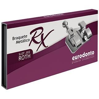 Bráquete Roth RX c/ Gancho Canino e Pré Molar 1 Caso - Eurodonto