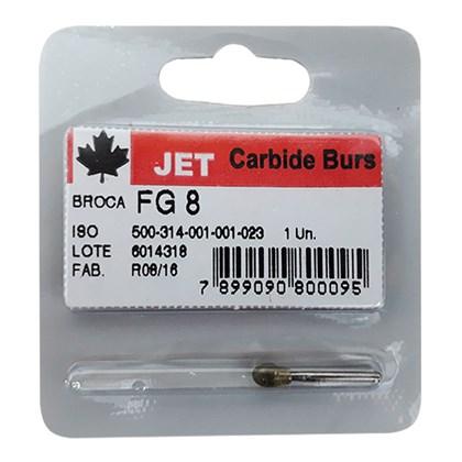 Broca Carbide FG 8 - Jet