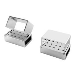 Broqueiro PM 15 Furos Aluminio - Maquira