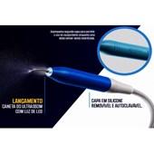 Capa Integral Autoclavável Azul para Caneta Ultrassom