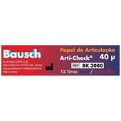 Carbono c/ 12 Tiras Azul e Vermelho Bk 3080 Bausch