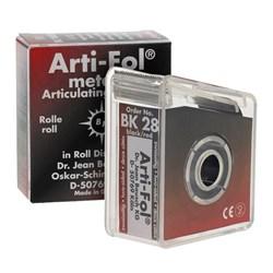 Carbono Rolo 20m Vermelho e Preto Arti-Fol BK28 - Bausch