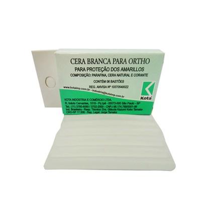 Cera Ortodontica Branca c/ 6 Unid Kota