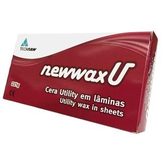 Cera Utilidade c/ 5 Laminas Newwax Technew