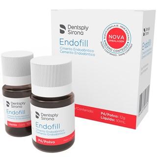 Cimento Endodontico Endofill Kit 12g + 10mL Dentsply