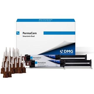 Cimento Resinoso Dual PermaCem 2 Seringas 10g + 20 Pontas - DMG