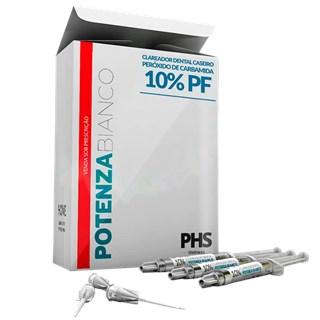 Clareador Potenza Bianco PF 10% C/3X3G - PHS<br /><br />