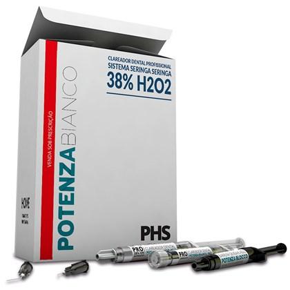 Clareador Potenza Bianco Pro SS 38% c/6 3g - PHS