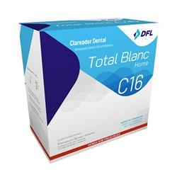 Clareador Total Blanc Home 16% c/ 6 Seringas Nova Dfl