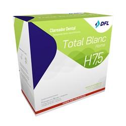 Clareador Total Blanc Home 7,5% c/ 6 Seringas Nova DFL