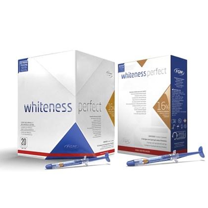 Clareador Whiteness Perfect 16 C 5 Gratis Kit 16 C 3 Fgm