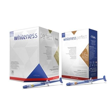 Clareador Whiteness Perfect 22 C 4 Gratis Kit 16 C 3 Fgm