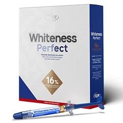 Clareador Whiteness Perfect c/5 Seringas - Grátis Vittra Unique 2G - FGM