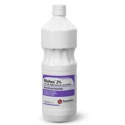 CLOREXIDINA RIOHEX 2% SOLUCAO AQUOSA 1L RIOQUIMICA