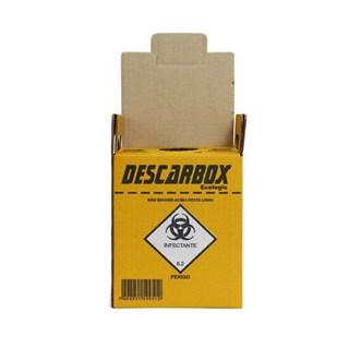 Coletor de Material Perfurocortante 1,5 Litros Premium Descarbox
