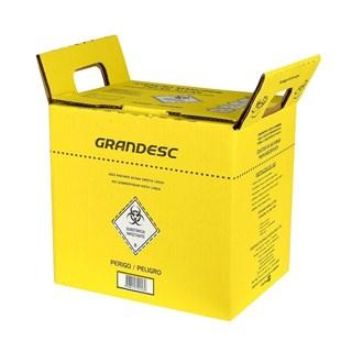 Coletor de Material Perfurocortante 3,0 Litros - Amarelo