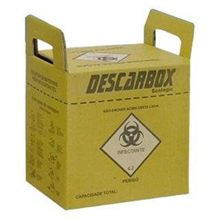 Coletor de Material Perfurocortante 3,0 Litros Ecologic - Descarbox