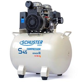 Compressor S45 36 Litros 110v p/ 01 Consultório - Schuster