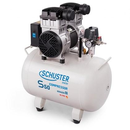 Compressor S50 50 Litros 220V - Schuster