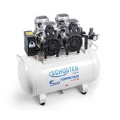 Compressor S60 60 Litros 220v p/ 02 Consultórios Schuster