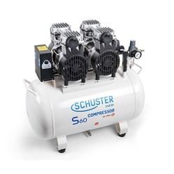 Compressor S60 60 Litros 220v p/  02 Consultorios Schuster