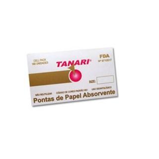 Cone de Papel 15-40 Esteril Cell Pack c/ 180 Tanari
