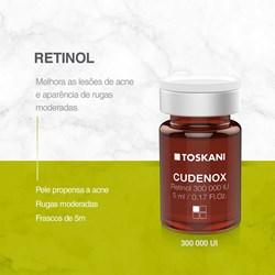 Cudenox Agente Contra Rugas e Lesoes das Acnes Cx c/5 Amp 5ml Toskani
