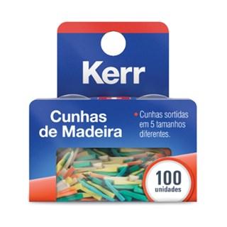 Cunha de Madeira Polidas Sortidas c/ 100 Unid Kerr
