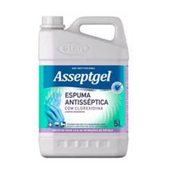 Desinfetante Asseptgel Espuma c/ Clorexidina 5L Start Quimica