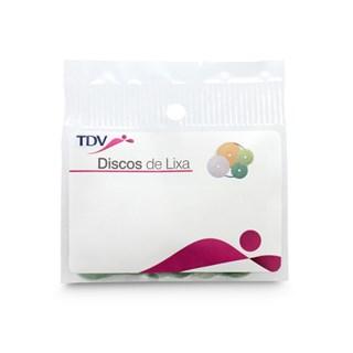 Disco de Lixa Para Resina 16mm Grosso c/ 100 3029g Tdv
