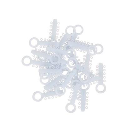 Elastico Modular Obscure Com 100 Unidades 406-986 Unitek