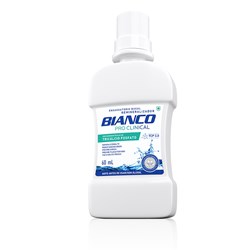 Enxaguatório Bucal Pro Clinical sem Álcool 500ml - Bianco