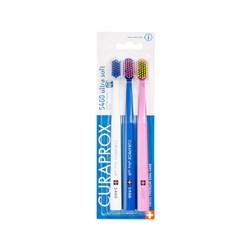 Escova Dental Adulto Ultra Macia c/ 3 Sortida Cs 5460b Curaprox