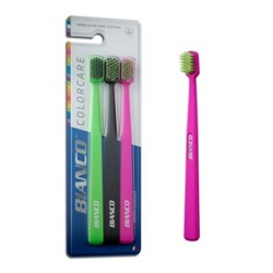 Escova Dental Colorcare Extra Macia c/ 3 Bianco