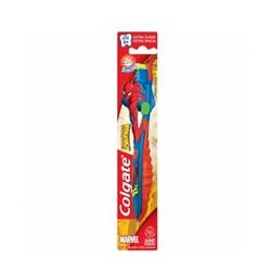Escova Dental Infantil Extra Macia Spiderman + 5 Anos Colgate