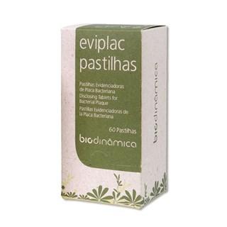 Evidenciador de Placa Eviplac c/ 60 Pastilhas Biodinamica