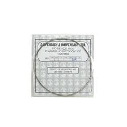 Fio de Aco Para Ortodontia Inox Med 1,00 Mm Daufenbach